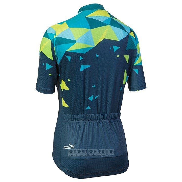 2018 Fahrradbekleidung Frau Nalini Chic Grun Trikot ...